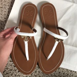 Tory Burch Shoes - Tory Burch white sandals